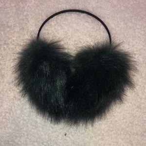 Free people Fuzzy Faux Fur earmuffs